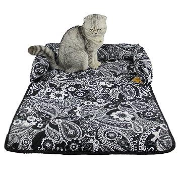 zuckerti mehrfunktional Cojín Mate cama Perros Cojín perro Sofá Cama cesta perros y gatos animales cama