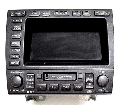 lexus gs300 radio