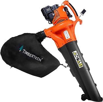 Timbertech - Aspirador de jardin soplador de hojas a gasolina 750 ...