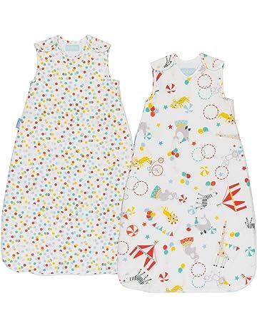 Grobag - Pack de 2 Sacos para dormir bebé, 0 – 6 meses, 1.0