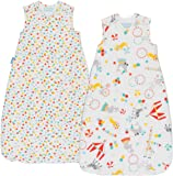 Grobag Roll Up Wash and Wear (6 to 18 Months, 2.5 tog, Pack of 2)