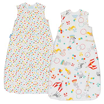 Grobag Day & Night Baby Sleeping Bag - Roll Up (0-6 months,