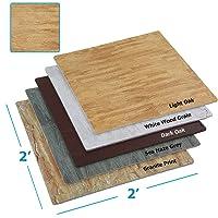 Clevr 100 sq ft. Interlocking EVA Foam Floor Mat Tiles (24