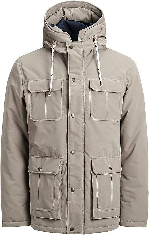 Jack /& Jones Originals Jacket Jorsteve Mens Polyester Hooded Winter Coat