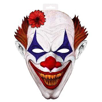 Folat EVA payaso Scary máscara con elástico (2 x -Large)