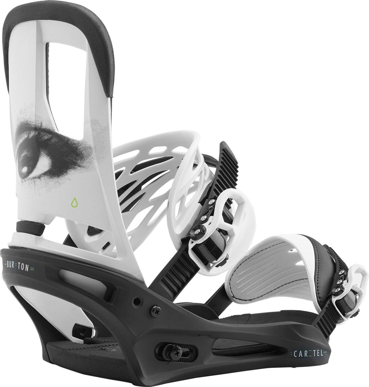 Burton Cartel Snowboard Bindings All Eyez Sz L (10+)