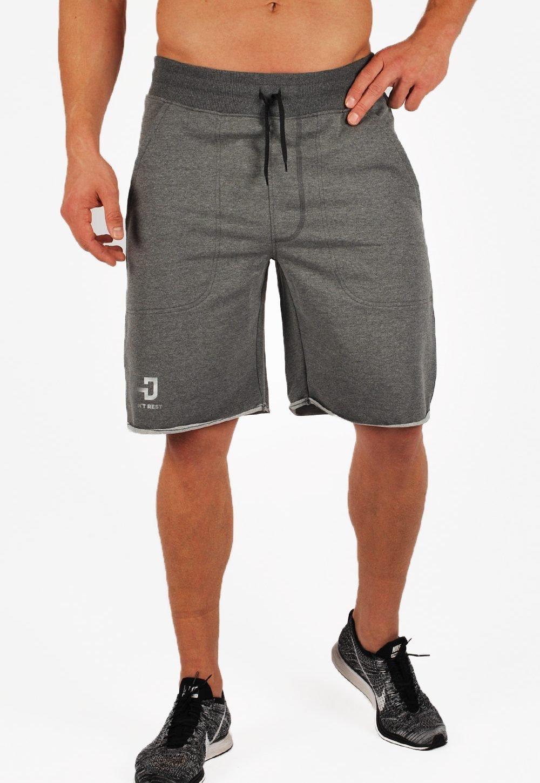 GYMJUNKY &apos quot;Performance Shorts Corto Jersey Pantaloni Fitness Forza Sport Fitness Training Compressione Bermuda Multifunzionale Biancheria