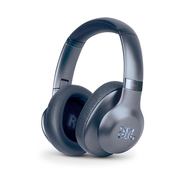 JBL Everest 750 Over-Ear Wireless Bluetooth Headphones (Blue) (Renewed)