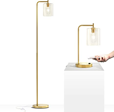 Brightech Elizabeth Set Of 2 Lamps Floor Lamp And Table Bundle Match Your Living Room S