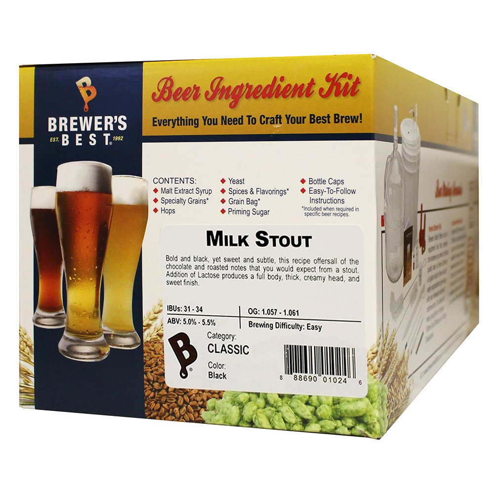 Brewer's Best Milk Stout by LD Carlson Company, Inc