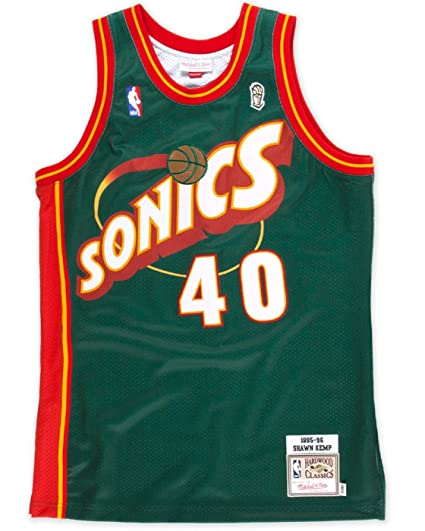 d26785bb0 Amazon.com   Mitchell   Ness Shawn Kemp Seattle Supersonics ...
