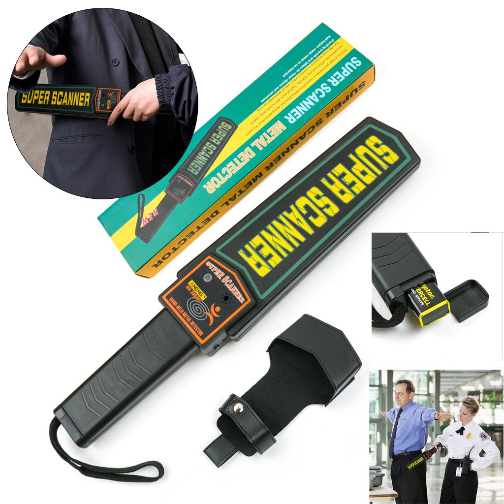 Amazon.com: SYlive ANENG MD-3003B1 Handheld Metal Detector Security Inspection: Computers & Accessories