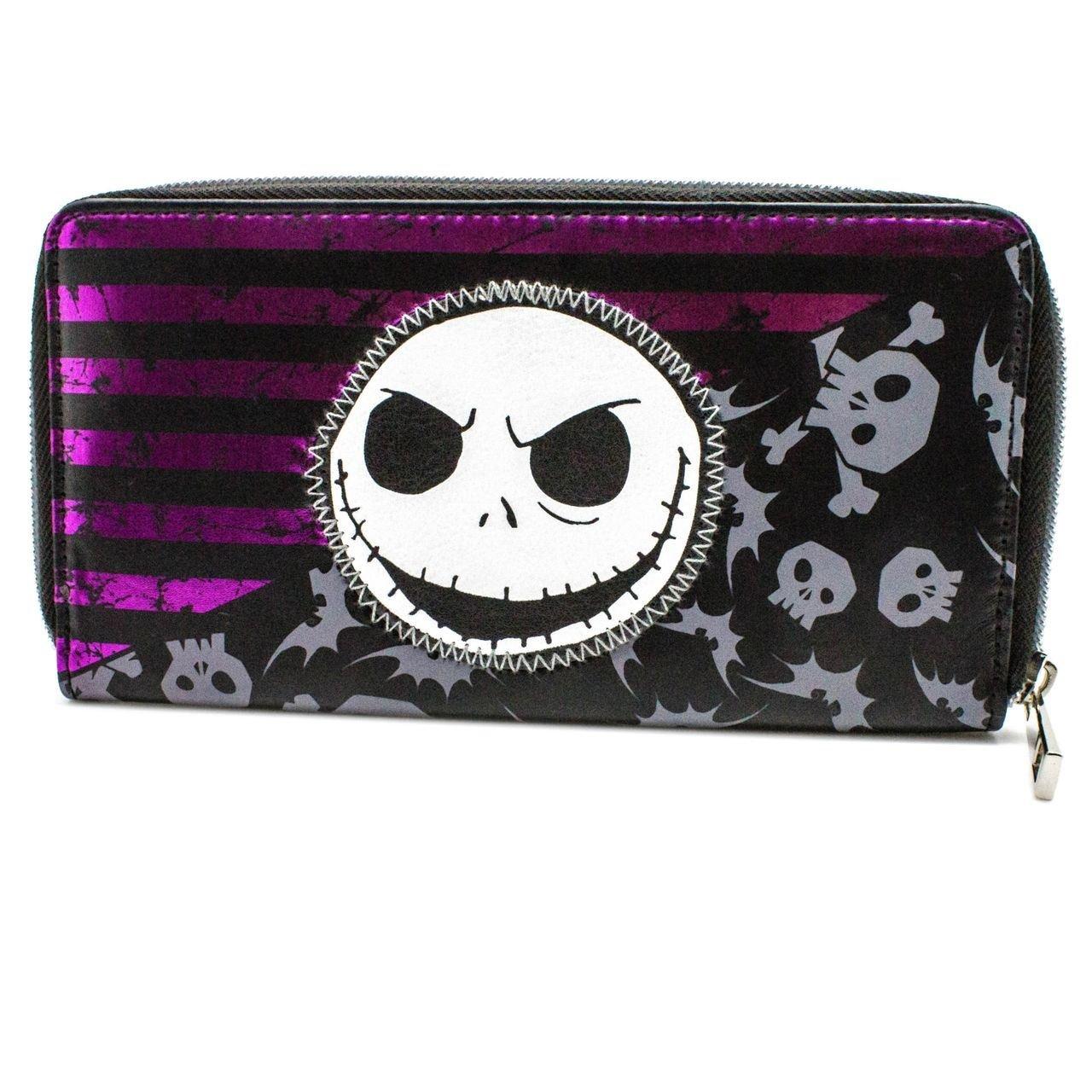 Cartera de Nightmare Jack Skellington cráneos Púrpura ...