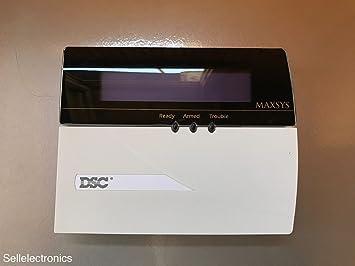 Amazon.com : DSC TYCO LCD-4501 MAXSYS programmable message ...