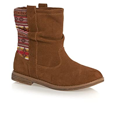 8f033dbab7c Amazon.com  TOMS Kids Womens Laurel Boot (Little Kid Big Kid)  Shoes