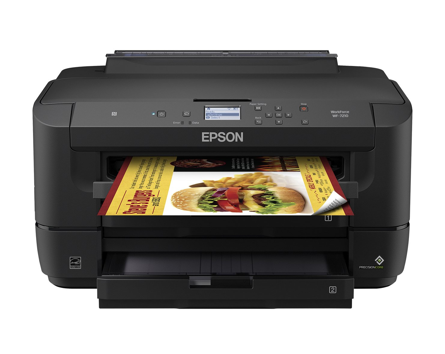 Workforce WF-7210 Wireless Wide-Format Color Inkjet Printer with Wi-Fi Direct and Ethernet, Amazon Dash Replenishment Enabled by Epson (Image #1)