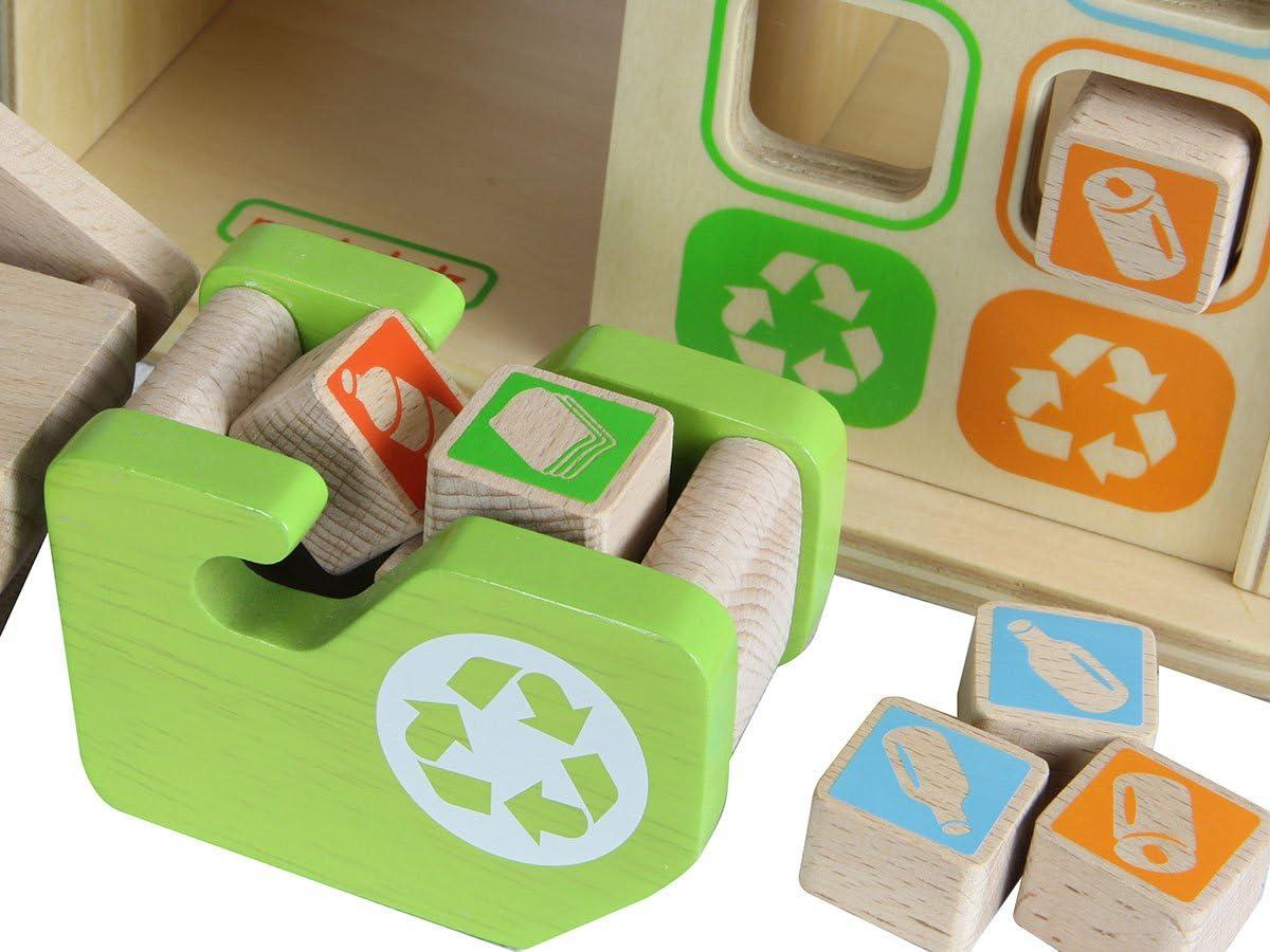 Masterkidz Recycling Plant Play Set