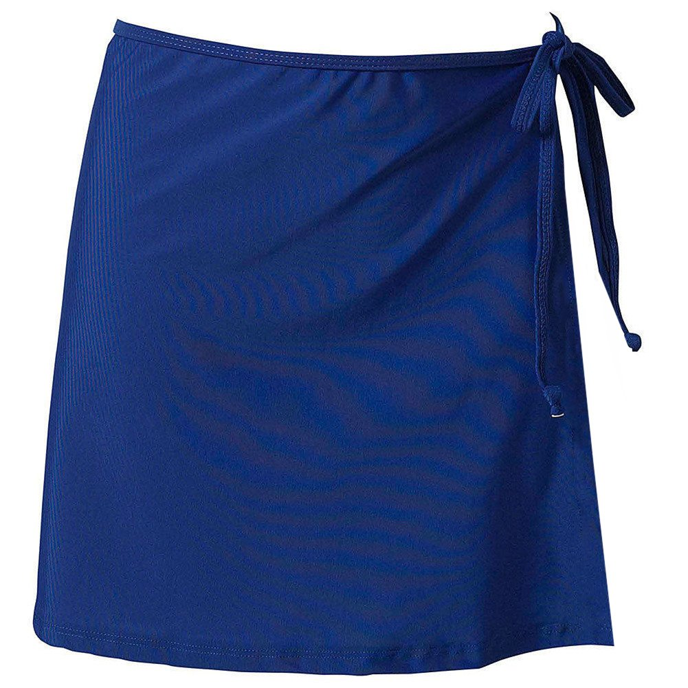 LD DRESS Ideal UV Wrap Short Skirt, Swimwear Cover up Beachwear Mini Skirt.(SJJ2) (XL, Royal Blue)