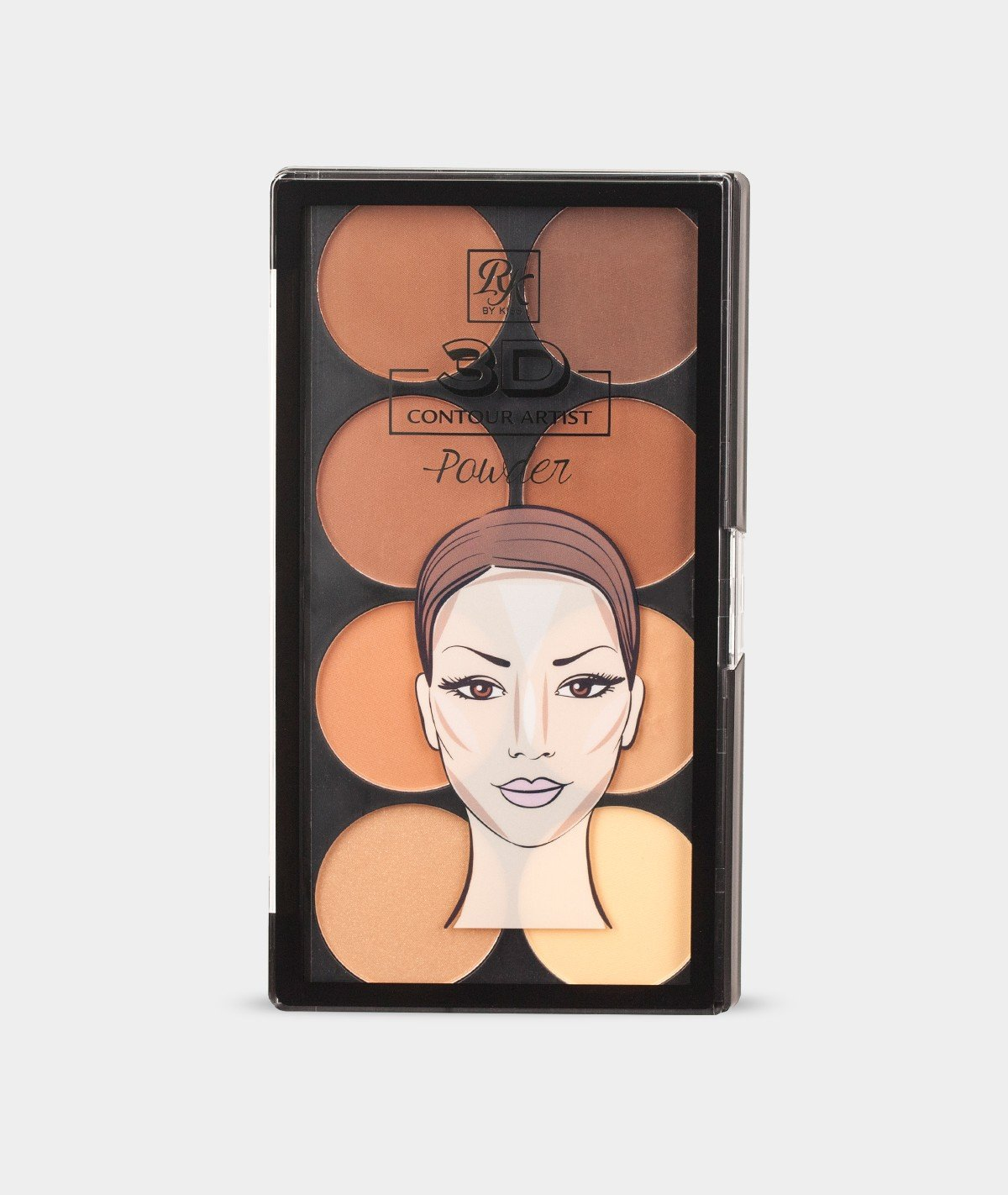 Rubykiss 3D CONTOUR Artist POWDER Medium Dark #RPCP02