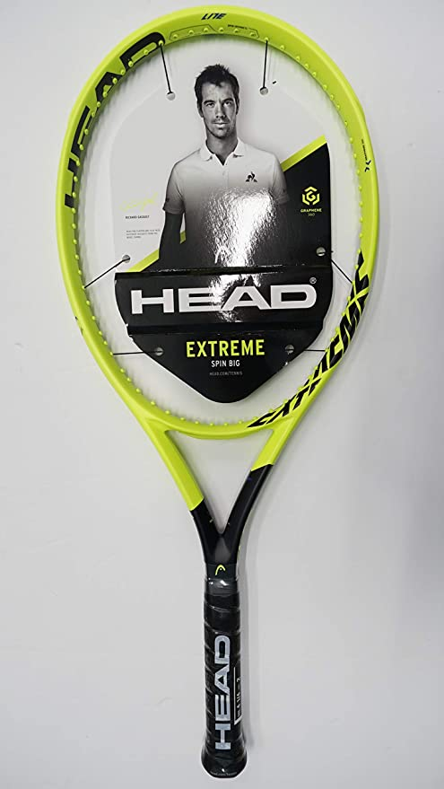 Amazon.com : Head Graphene 360 Extreme Lite Tennis Racquet, Free Synthetic Gut String (#1 [4 1/8]) : Sports & Outdoors