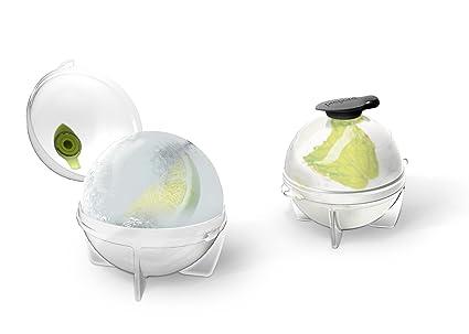 Prepara Ice Ball Maker 2er Set Clever Eiswürfel-zubereiter
