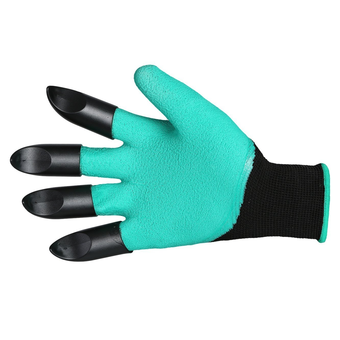 Meanch Garden Gloves with Fingertips Right Hand Claws Quick & Easy to Dig and Plant ¨C Great for Digging Weeding Seeding poking