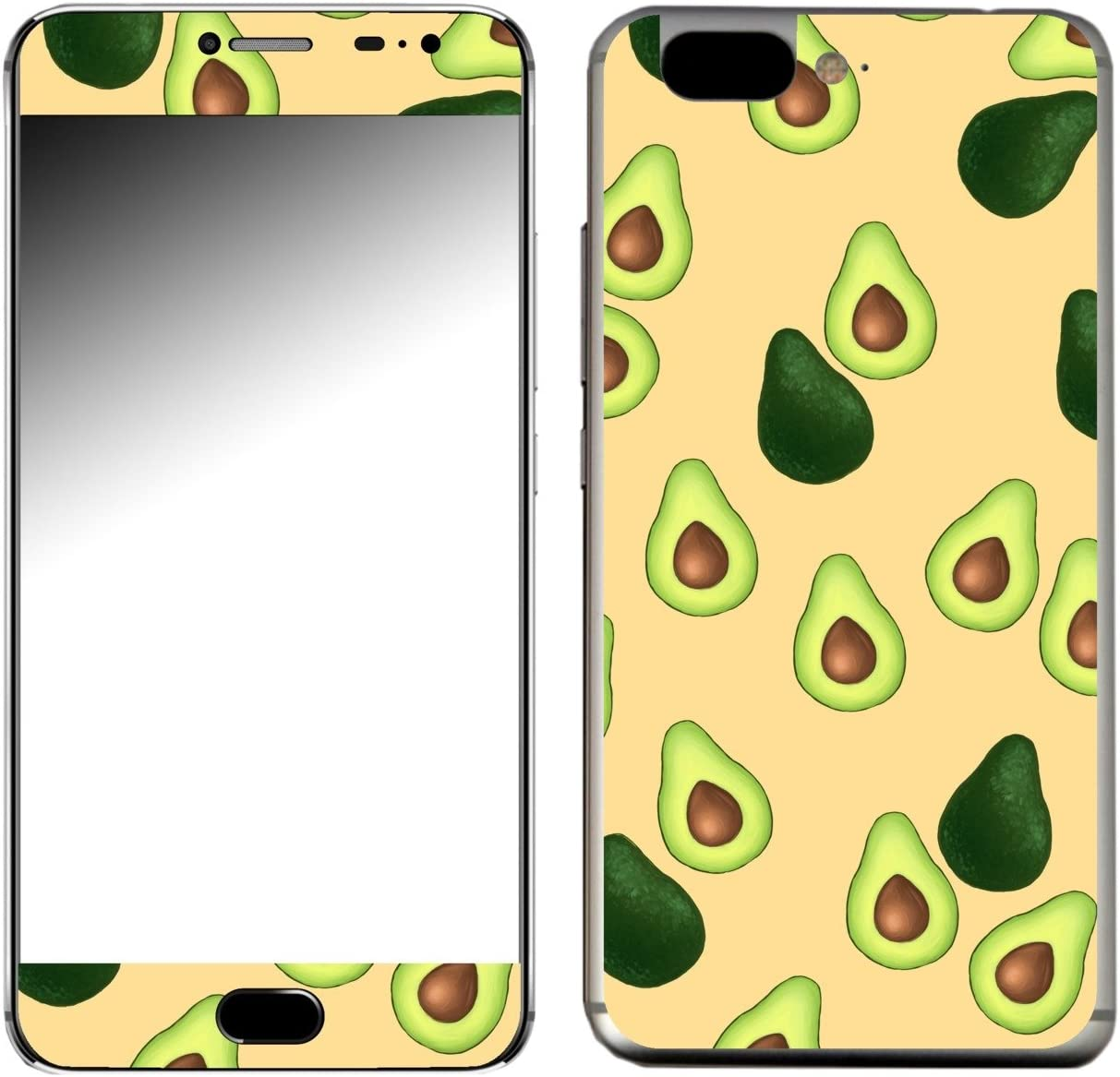 DISAGU &apos SF de 107886 _ 1123 Diseño Protector de Pantalla para UMI Z – Diseño aguacates patrón Naranja: Amazon.es: Electrónica