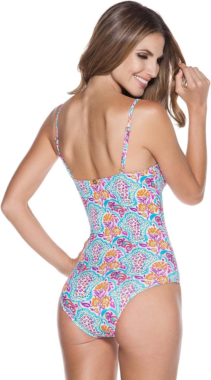 OndadeMar Womens Underwire One Piece Swimsuit