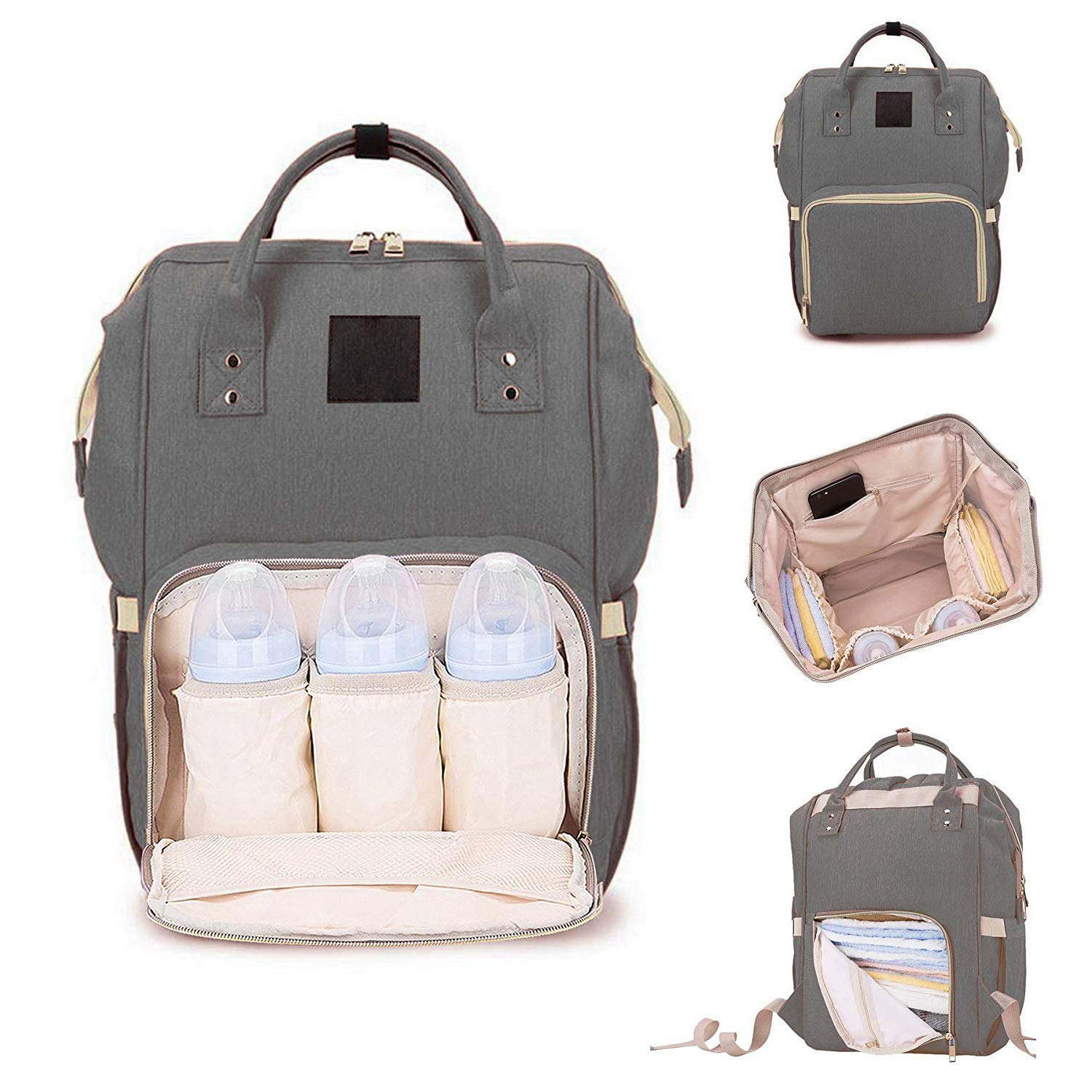 6c645594d331 House of Sensation Multi-Function Waterproof Mother Bag for Travel with  Baby - Large Capacity