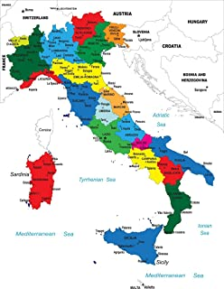 Amazon Com Long Bridge Publishing Italian Language School Poster