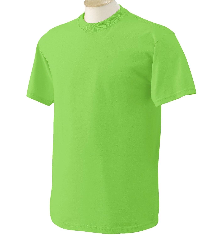(ギルダン) Gildan メンズ ヘビーコットン 半袖Tシャツ トップス カットソー 定番 男性用 B00WEPLPUS 4L|ライムグリーン ライムグリーン 4L