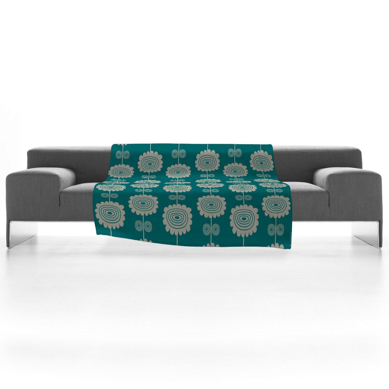 E by design O5PSN537BL14OR13-20 Printed Outdoor Pillow