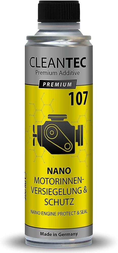 Cleantec Nano Motor Innen Versiegelung Und Schutz Additiv Hightec Engine Protect Nano Seal Motorversiegelung Weniger Verbrauch Und Mehr Leistung 107 Auto