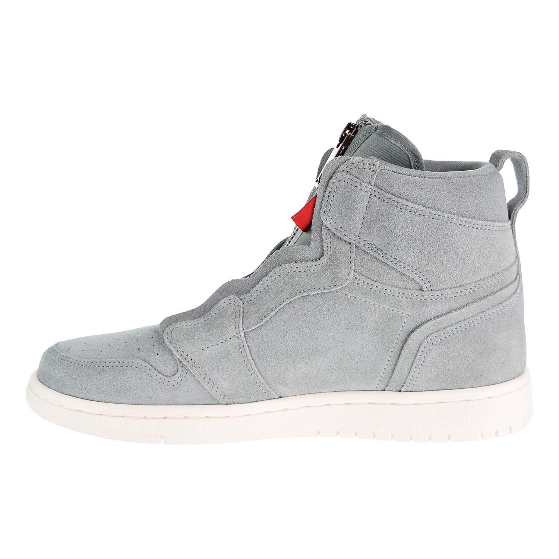 best authentic 36d5d c87fe Amazon.com | Nike Women's AIR Jordan 1 HIGH Zip Shoe MICA Green/MTLC RED  Bronze | Fashion Sneakers