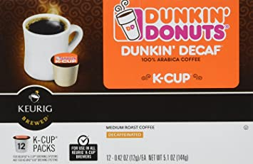 Dunkin Donuts KCups Decaf 96 Count Amazoncom Grocery Gourmet