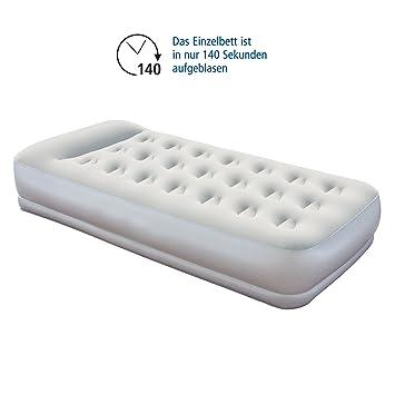 bestway materasso singolo gonfiabile airbed pompa integrata ... - Materassi Gonfiabili Con Pompa Elettrica