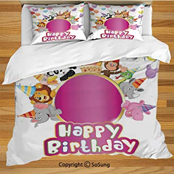 Kids King Size Bedding.Amazon Com Birthday Decorations For Kids King Size Bedding