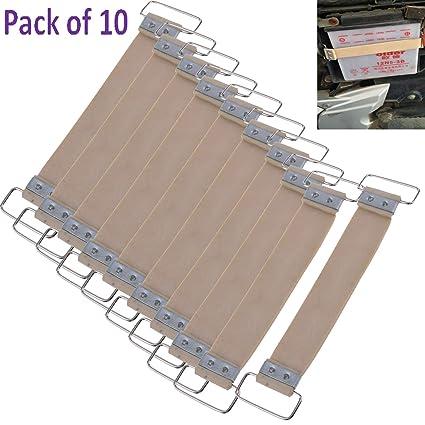 Amazon.com: Paquete de 10 piezas de correa de goma para ...