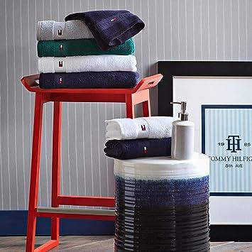 G/ästetuch 40 x 60 Tommy Hilfiger Uni S/érie Bordeaux