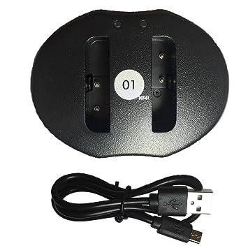 3 x dot-01 marca 1400 mAh) de repuesto Sony NP-FG1 pilas y ...