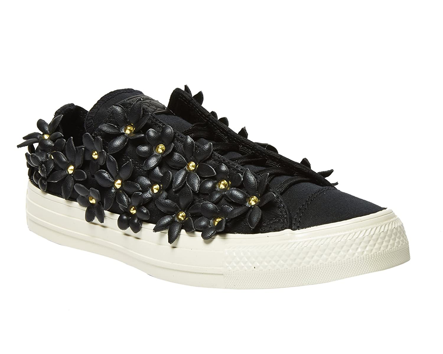 CONVERSE Designer Chucks Schuhe - ALL STAR -  6.5 B(M) US|Black/White/Bright Pink