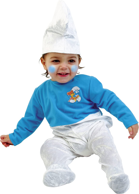 Josman C125130 Disfraz Pitufo Baby 3-12 meses: Amazon.es: Juguetes ...