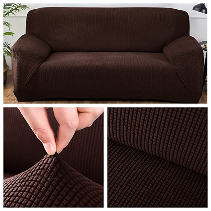 Amazon.com: DENG&JQ Stretch Universal Sofa Cover,All ...