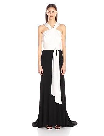 30f0a5ce73b2 Amazon.com: Vera Wang Women's Jersey Gown: Clothing