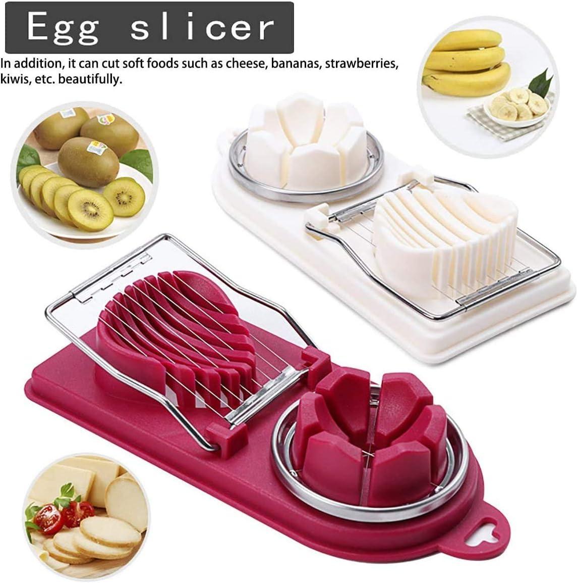Stainless Steel Wire Egg Slicer Cutter Chopper Kitchen Tool Gadget Utensil