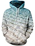 Uideazone Unisex 3D Print Hooded Sweatshirt Casual Pullover Hoodie With Kangaroo Pockets