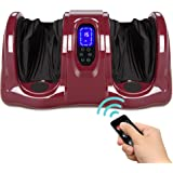 Best Choice Products Therapeutic Shiatsu Foot Massager Kneading and Rolling for Foot, Ankle, Nerve Pain w/ Handle, High Inten