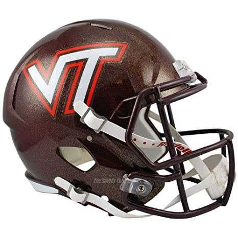 Mini Helmets Sports Souvenirs Riddell NCAA Virginia Tech Hokies Replica Mini Football Helmet