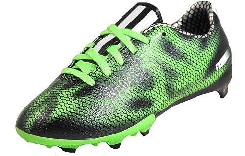 adidas - Botas de fútbol de Sintético para niño Negro Negro 80bf45482f563