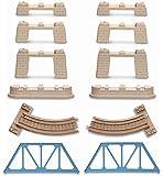 Thomas Le Petit Train - T0211 - Vehicule Miniature - Complement Rail - Thomas Pont